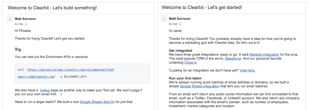 clearbit-segment-customer.io-integration-screenshot